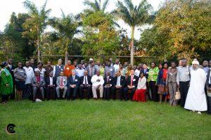 PHOTO 3 - Presidents, faith & youth leaders at Melia Hotel, Zanzibar