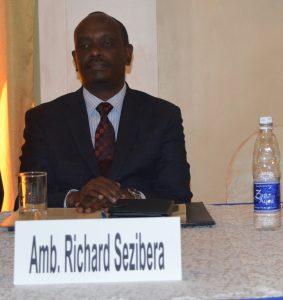 PHOTO 8 - Secretary Gen. EAC- Dr. R. Sezibera